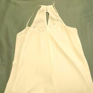 Express White dress tank